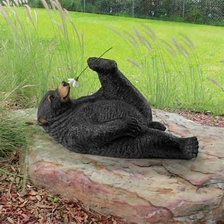 Bear Garden (Design Toscano Smell the Flowers Garden Bear Statue )
