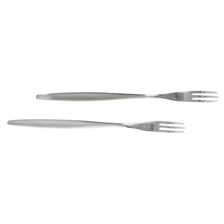 Long Handle Fork - Norpro Stainless Steel Pickle Forks Set Of 2 Olive Maraschino Cherry 8