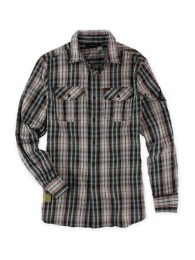 8a8676305 Product Image Rocawear Mens Flannel Button Up Shirt chocolate S
