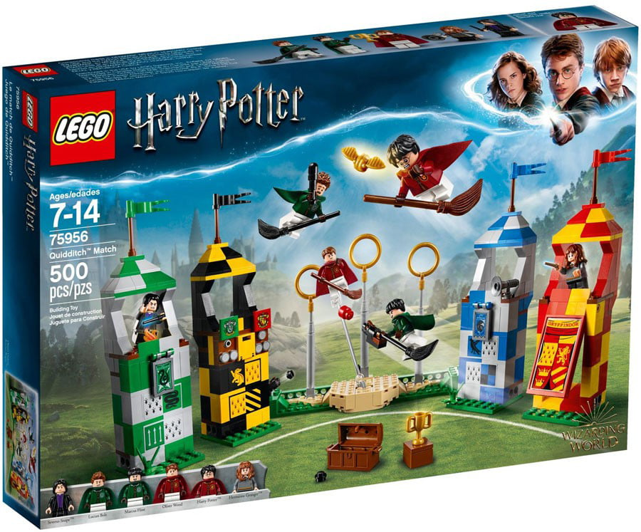 Harry Potter Quidditch Match Set Lego 75956 by