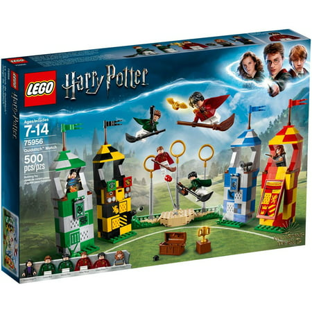 Harry Potter Quidditch Match Set LEGO 75956 (Lego Harry Potter 5 7 Character Locations)