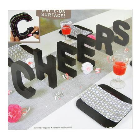 3D Cheers Letter Chalkboard Kit, 7-Inch - Chalkboard Letters