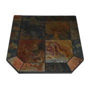 "Asian Slate Double Cut Stove Board,48"" x 48"""