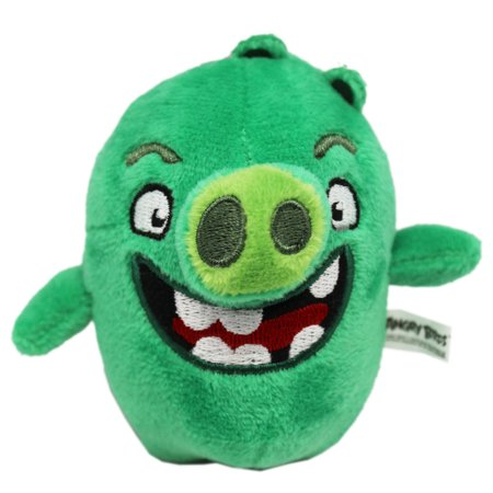 Angry Birds Bad Green Piggy Mini Plush Toy (3in)