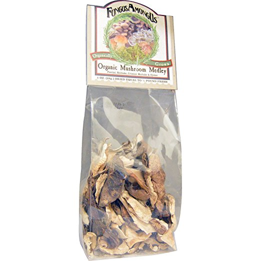 FungusAmongUs, Organic Mushroom Medley, 1 oz(pack of 2) by