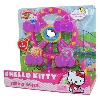 Sanrio Hello Kitty World Playset FERRIS WHEEL (Really Spins!) by
