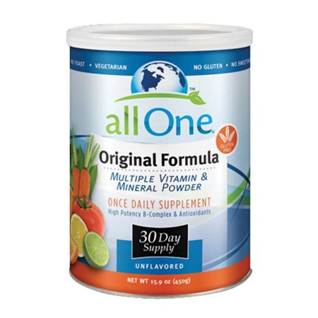 Image of All One Original Formula Multiple Vitamin And Mineral Powder- 30 Day Supply - 15.9 Oz