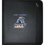 NCAA UTEP Miners 3-Ring Zippered Binder