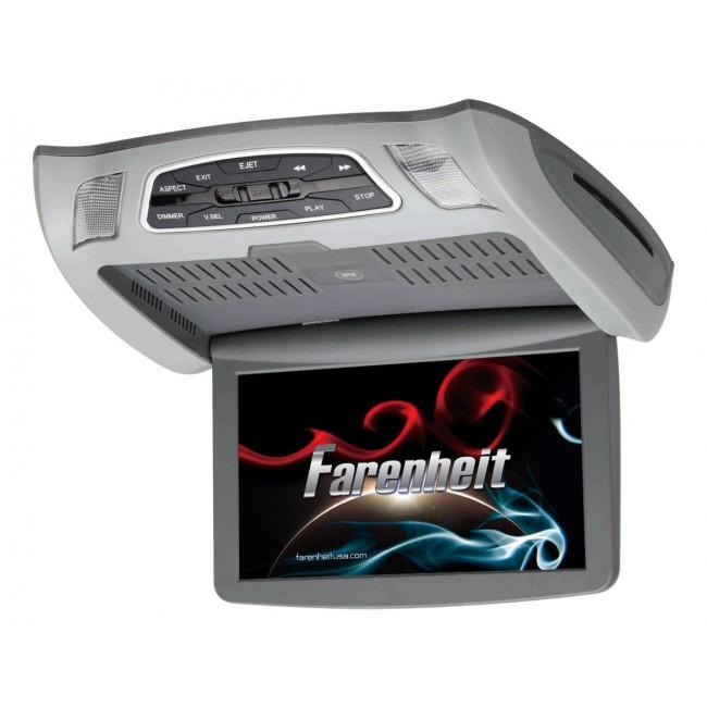 Farenheit CM-103D 10.3 Inch Mobile LCD Ceiling Mount DVD Entertainment Monitor