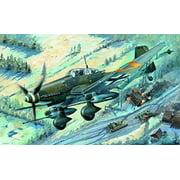 Trumpeter Junkers Ju-87G-2 Stuka Airplane Building Kit