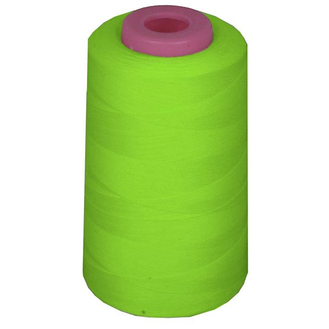6000 Yards 100 Percent Polyester Cone Serger Thread, Lime - A401 - image 1 of 1