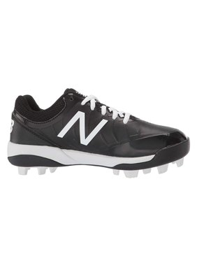 New Balance Kids 4040v5 Baseball (Little Kid/Big Kid) Black/White