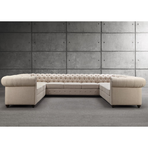Mulhouse Furniture Garcia Sectional Collection