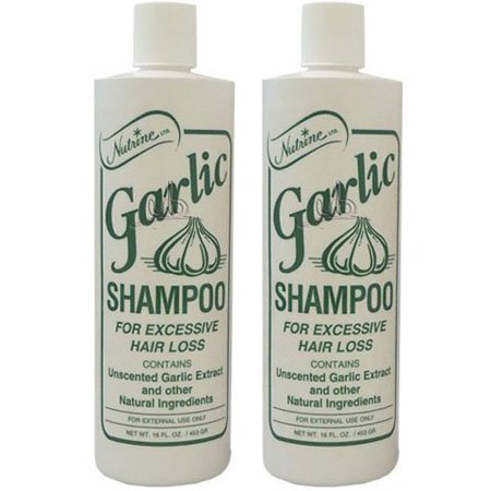 Garlic Shampoo - Aids In The Prevention Of Excessive Hair Loss (2 Pack Of 16 oz)
