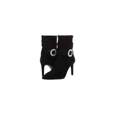 Womens Viola (Michael Kors Womens Viola Flex Bootie Fabric Pointed Toe Ankle, Black, Size 6.0)