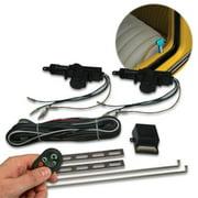 AutoLoc Power Accessories AUTCK2000 2 Door Remote Central Lock Kit with Remotes