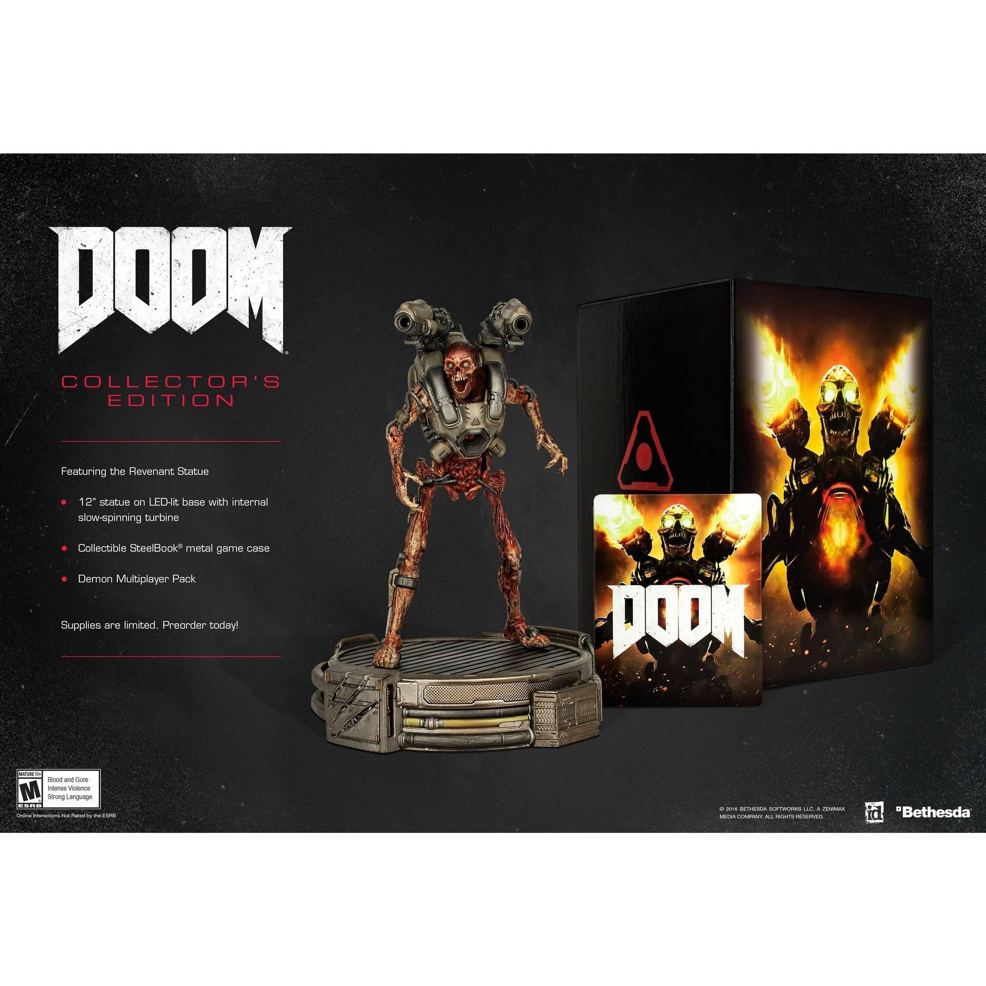 Doom Collector's Edition (PS4)