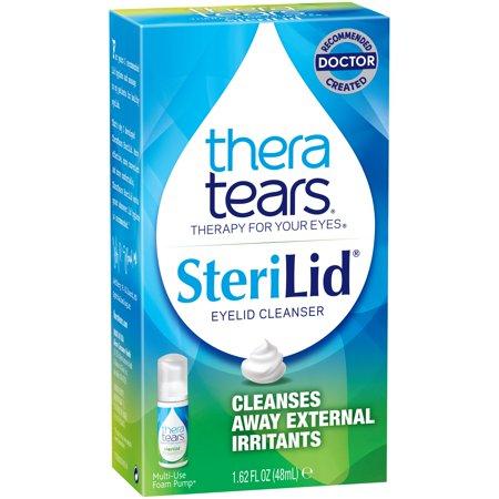 Thera Tears ® SteriLid ® Eyelid Cleanser 1.62 fl. oz. Box