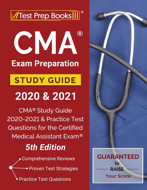 exam cma study practice test guide assistant medical 2021 certification preparation questions certified prep books pdf version 5th edition tpb