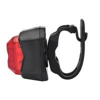 Greensen LED Mountain Bike Taillight Bicycle Safety Tail Light Night Riding Cycling Rear Warning Lamp