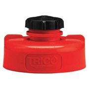 TRICO 34431 Storage Lid,HDPE,3.25 in. H,Red