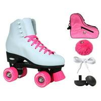 Epic Cheerleader Indoor/Outdoor Quad Roller Skates