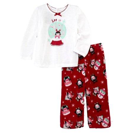 0d08086d8d89 Joe Boxer - Joe Boxer Infant Toddler Girls Let It Snow Penguin ...