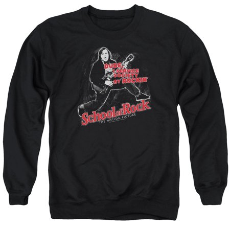 School Of Rock Music Band Comedy Movie Jack Black Rockin Adult Crew