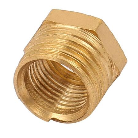 Female Thread Air Hose Tube Fittings Hex Head Socket Pipe Adapter Caps - image 1 of 1