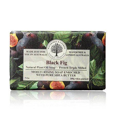Wavertree & London Black Fig luxury soap (1 bar), Item Condition: 100% authentic, new and unused. Wavetree & London Black Fig 200g/7oz French Triple Milled.., By Wavetree London From - Black Mille
