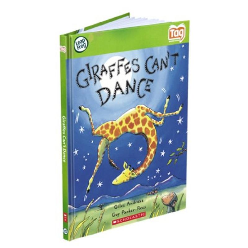 LeapFrog Tag Activity Storybook Giraffes Can't Dance (Scholastic) by LeapFrog Enterprises
