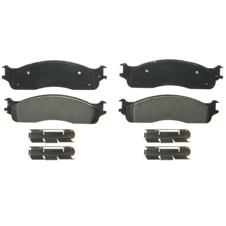 Wagner Brakes ZX965 Brake Pad QuickStop OE Replacement; Semi-Metallic; With Installation Kit - image 1 de 1