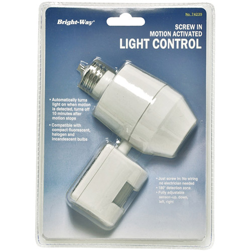 Bright-Way 74239 Motion-Activated Outdoor Light