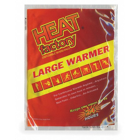 """Heat Factory Usa 5-1/2"""" x 4"""" Red Replacement Warmer, 3PK 19413"""