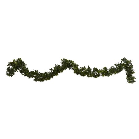 Nearly Natural 6' Boxwood Artificial Garland (Indoor/Outdoor) (Set of 4) - Boxwood Garland