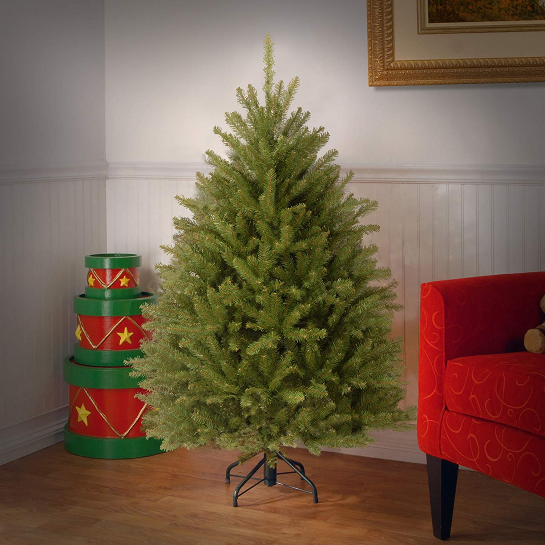 4.5' Dunhill Fir Artificial Christmas Tree - Unlit ...