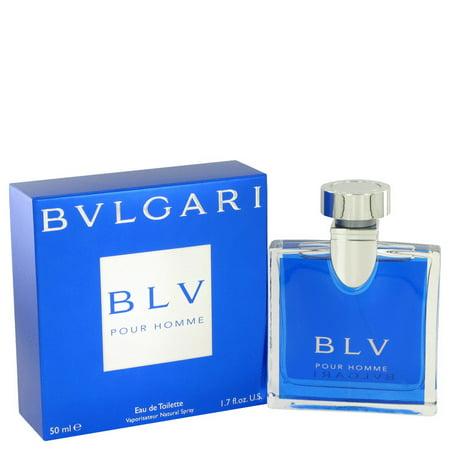 Bvlgari BVLGARI BLV (Bulgari) Eau De Toilette Spray for Men 1.7 (Bulgari Mens)