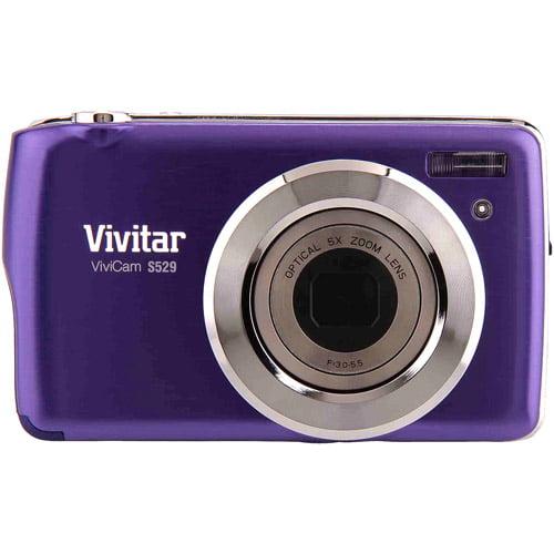 Vivitar 16MP Digital Still Camera with 2.7-Inch TFT (VS529-GRP-BOX) by Generic-OEM