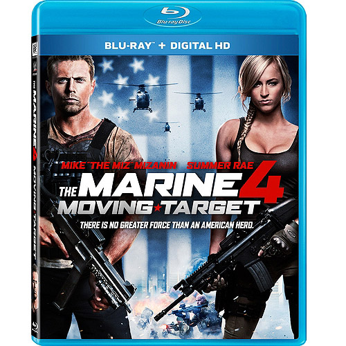 The Marine 4: Moving Target (Blu-ray + Digital HD) (With INSTAWATCH) (Widescreen)