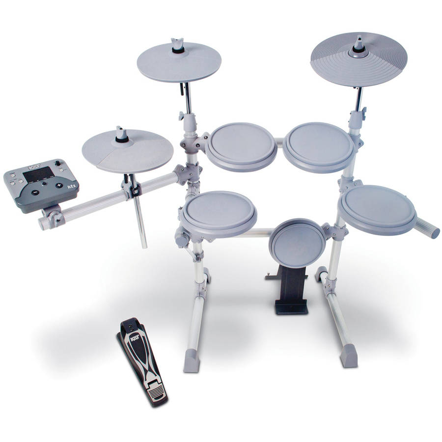 KAT Percussion KT1 5-Piece Electronic Drum Set by KAT PERCUSSION