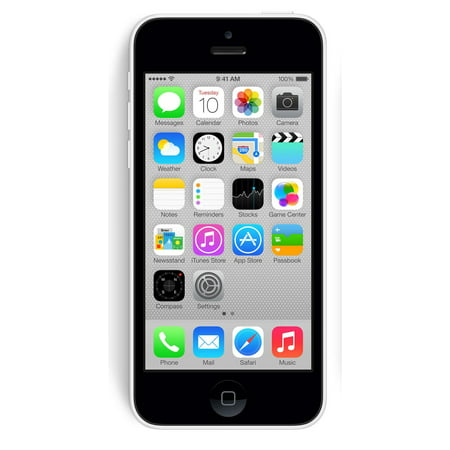 Apple iPhone 5c 16GB Unlocked GSM Phone w/ 8MP Camera - White (
