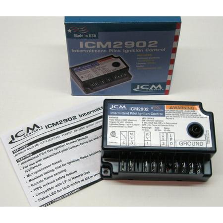 ICM2902 ICM Pilot Ignition Gas Control Board for Johnson G776RGD-14 Lennox 30W33