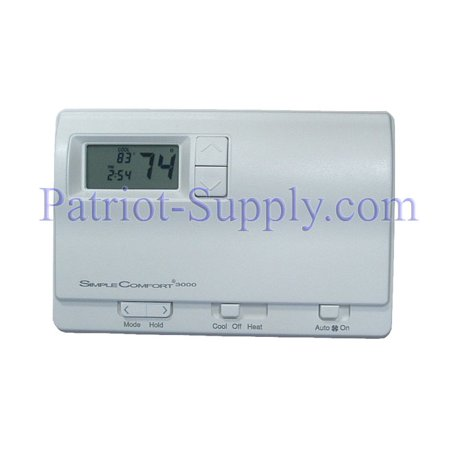 ICM Controls SC3000L Simple Comfort Programmable Thermostat