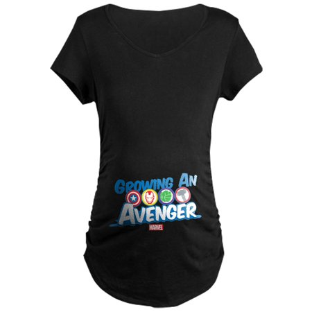 CafePress - Growing An Avenger Maternity Dark T Shirt - Maternity Dark - Cafepress Maternity Halloween Shirts