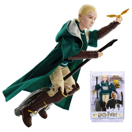Draco Malfoy Quidditch Uniform Harry Potter Doll 10