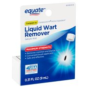 Equate Maximum Strength Liquid Wart Remover, 0.31 fl oz