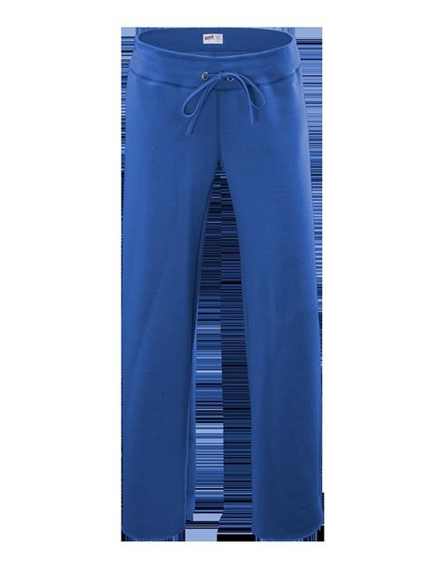 Soffe 7540G460LRG Girls Rugby Cotton Poly Sweat Pant, True Royal - Large