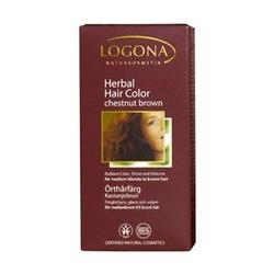 Logona - Hair Color,  Chestnut Brown, 3.5 oz