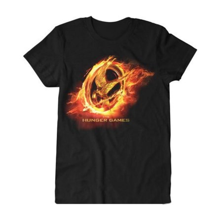 The Hunger Games Fire Mockingjay Men's T-Shirt | - Hunger Games Training Outfit