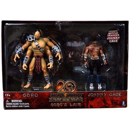 20th Anniversary Action Figure - Mortal Kombat 20th Anniversary Goro's Lair Action Figure 2-Pack